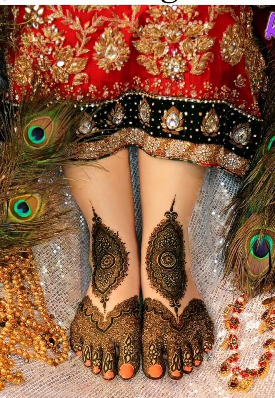 Mehndi designs 2016 for feet (12)