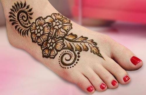 Unique Mehndi Designs 2016 : Mehndi designs for feet
