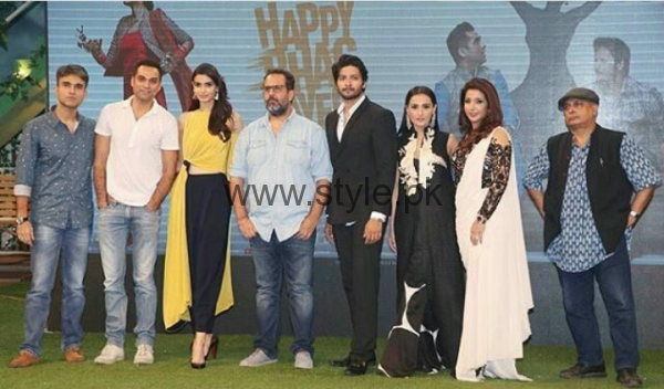 Momal Sheikh during promotion of her Bollywood movie Happy Bhag Jayegi (5)