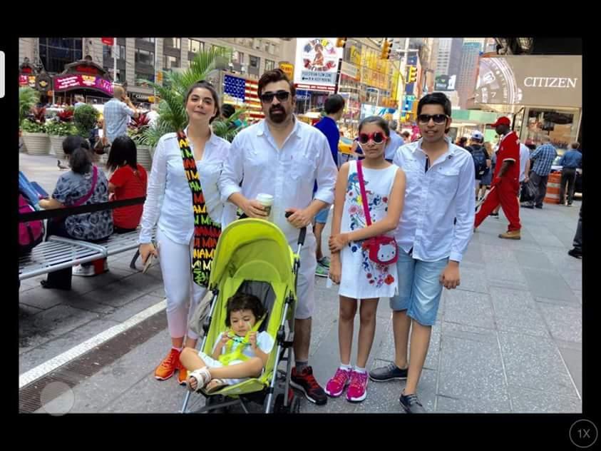 Nida Yasir is enjoying vacations in USA