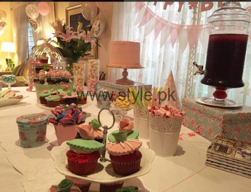 Syra Shehroze Daughter Nooreh Birthday