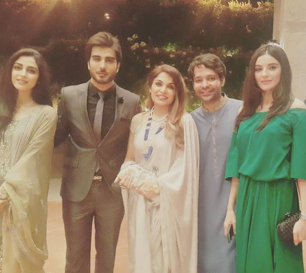 Pakistani Celebrities at dinner by High Commission India (3)