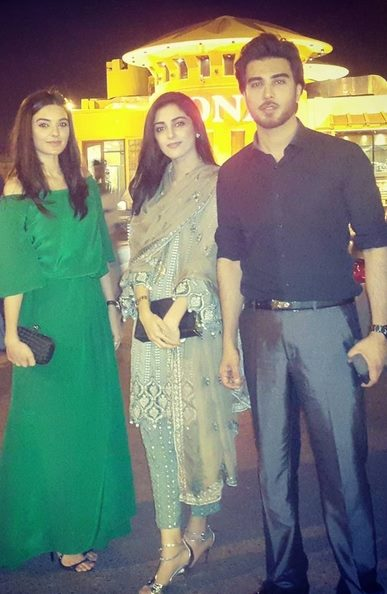 Pakistani Celebrities at dinner by High Commission India (4)