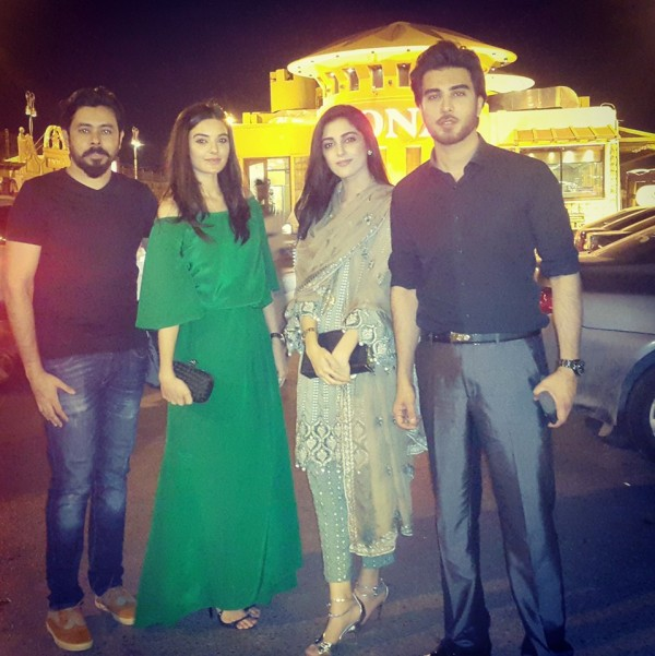 Pakistani Celebrities at dinner by High Commission India (7)