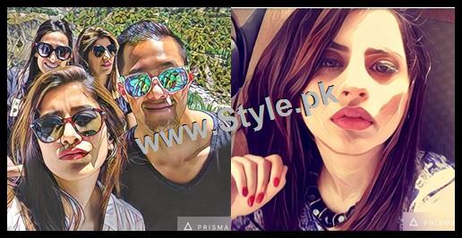 See Pakistani Celebrities who are addicted to Prisma App