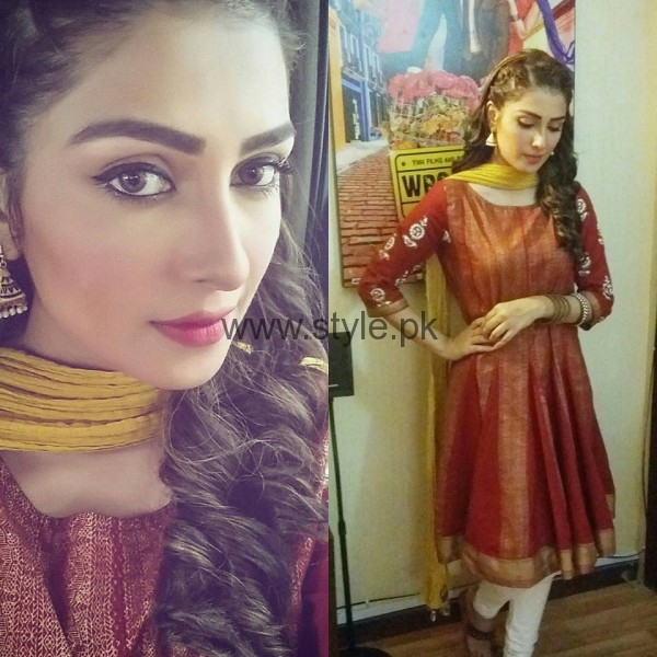 Pictures of Ayeza Khan from Shehrnaaz  (7)