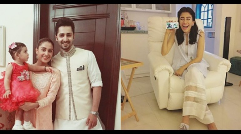 See Pictures of Pakistani Celebrities on 2nd day of Eid