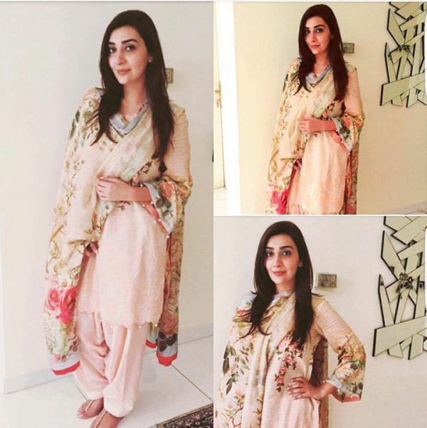 Pictures of Pakistani Celebrities on 2nd day of Eid (14)