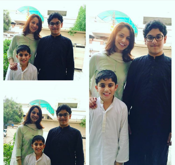 Pictures of Pakistani Celebrities on 2nd day of Eid (7)
