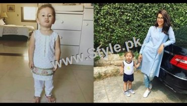See Recent Pictures of Syra Shahroze with her daughter