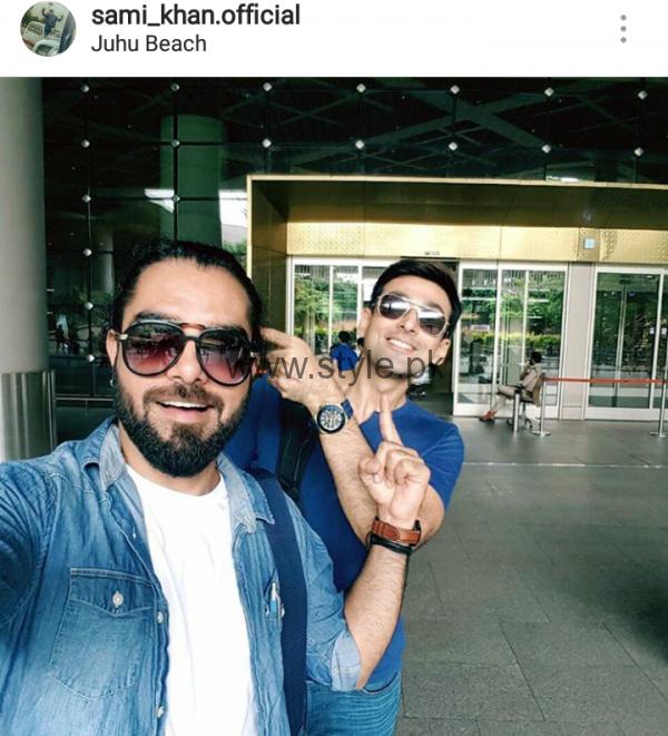 Sami Khan, Yasir Hussain and Imran Abbas in India (5)