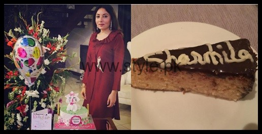 See Sharmila Farooqui's birthday celebration