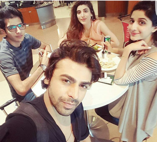 The Hocane siblings and Farhan Saeed enjoying in Germany (1)