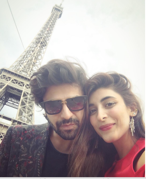 Urwa Hocane and Farhan Saeed in France