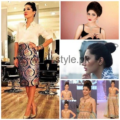 Which Pakistani Actresses Looks Beautiful In Buns