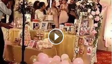 See Hoorain Taimoor's Birthday Celebration