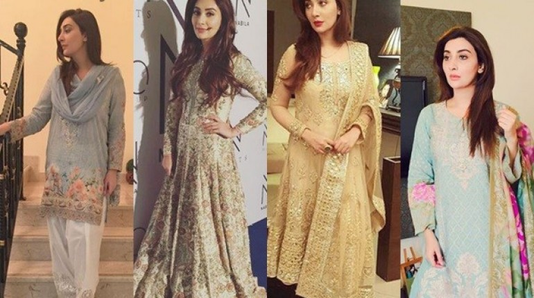 See 10 Best Outfits of Ayesha Khan