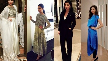 See 10 Best Outfits of Mahira Khan