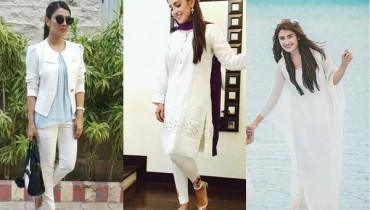 See 10 Times Ayeza Khan stunned in White dress