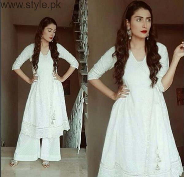 10 Times Ayeza Khan stunned in White dress (3)