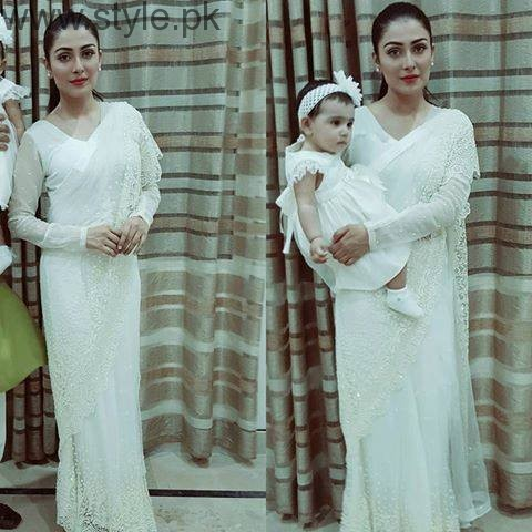 10 Times Ayeza Khan stunned in White dress (6)