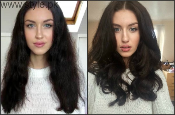 5 Different Hair Blow dry styles (8)