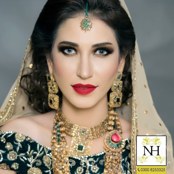 Abeer Rizvi Bridal Makeup Photoshoot