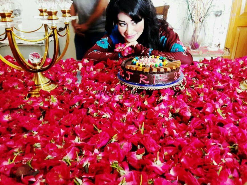 See Actress Rizwana Kamali celebrating her birthday