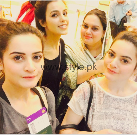 Aiman Khan and Minal Khan are enjoying in Thailand (3)
