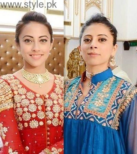 Ainy Jaffri and Meher Jaffri