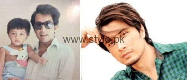 Ali Zafar Childhood
