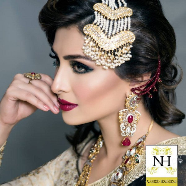 Ayeza Khan Bridal Makeup Photoshoot
