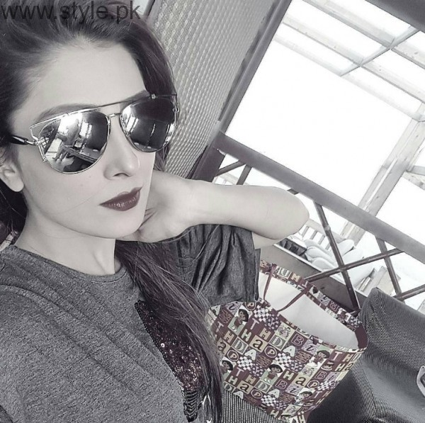 Ayeza Khan In Glasses