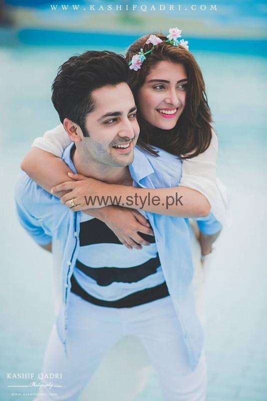 Ayeza Khan and Danish Taimoor Wedding Anniversary