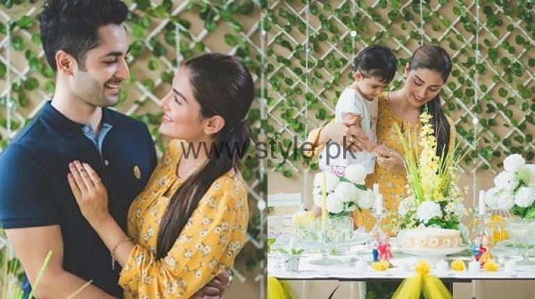 See Ayeza Khan and Danish Taimoor at their second wedding anniversary