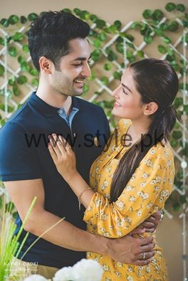 Ayeza Khan and Danish Taimoor at their second wedding anniversary (3)