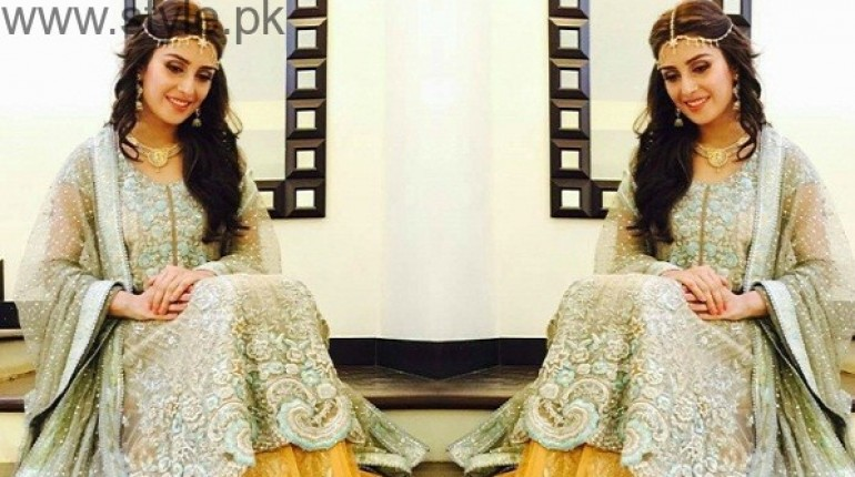 Ayeza Khan as bride