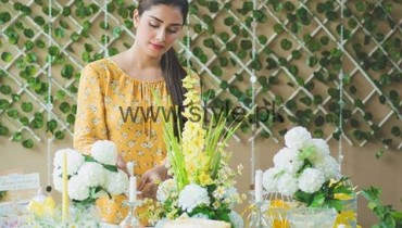 See Ayeza Khan at her 2nd Wedding Anniversary
