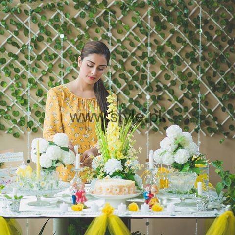 See Ayeza Khan at her 2nd Wedding Anniversary