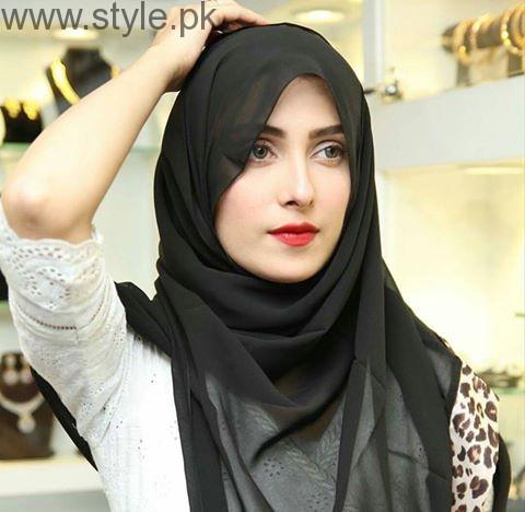 Ayeza Khan In Rabaya Hijab And Abaya