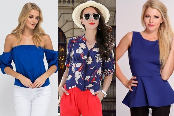 Blue Summer Tops for Women 2016 (1)