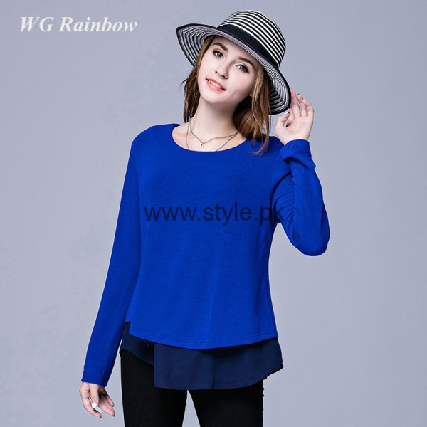 Blue Summer Tops for Women 2016 (10)