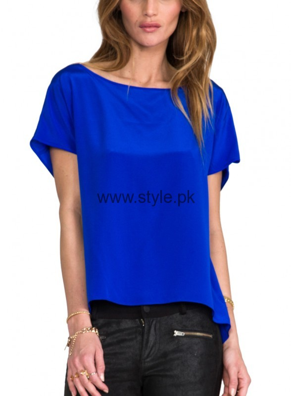 Blue Summer Tops for Women 2016 (13)