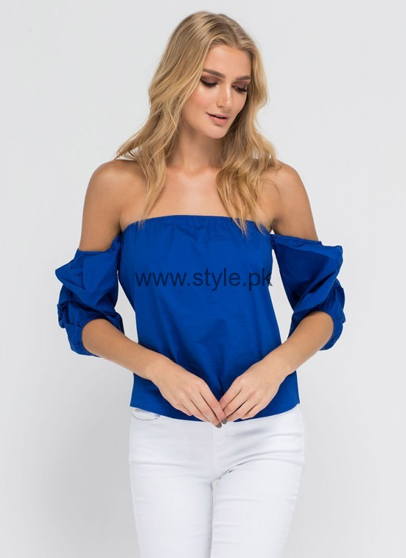 Blue Summer Tops for Women 2016 (4)