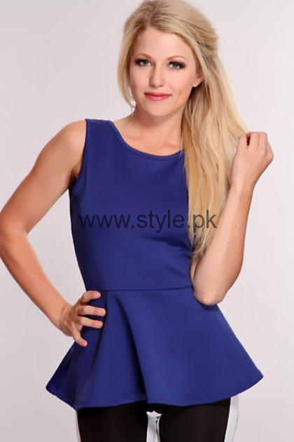 Blue Summer Tops for Women 2016 (6)