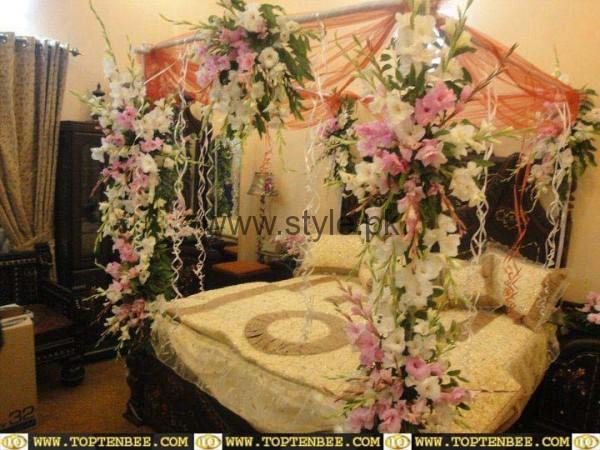 Bridal Wedding Room Decoration Ideas 2016 (3)