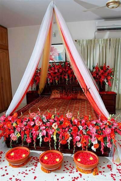 Bridal wedding room decoration ideas 2016 bridal wedding room decoration ideas 2016 4 junglespirit Image collections