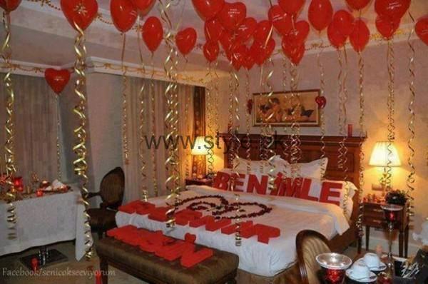 Bridal Wedding Room Decoration Ideas 2016 (9)