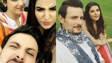 See Cast of Diyar-e-Dil is reunited for drama Serial 'Sanam'