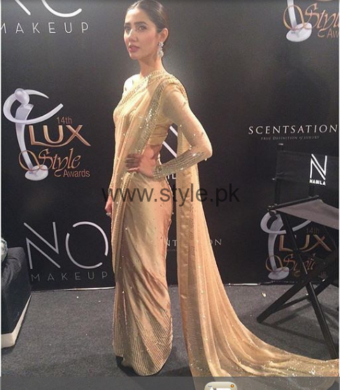 Celebrities spotted in Sarees on Red Carpets (2)